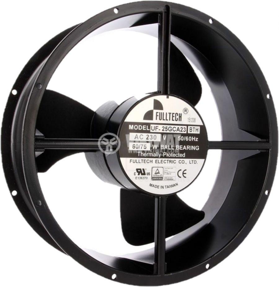 Вентилатор промишлен аксиален ф254x89mm 1110m3/h 60W 230V - 2