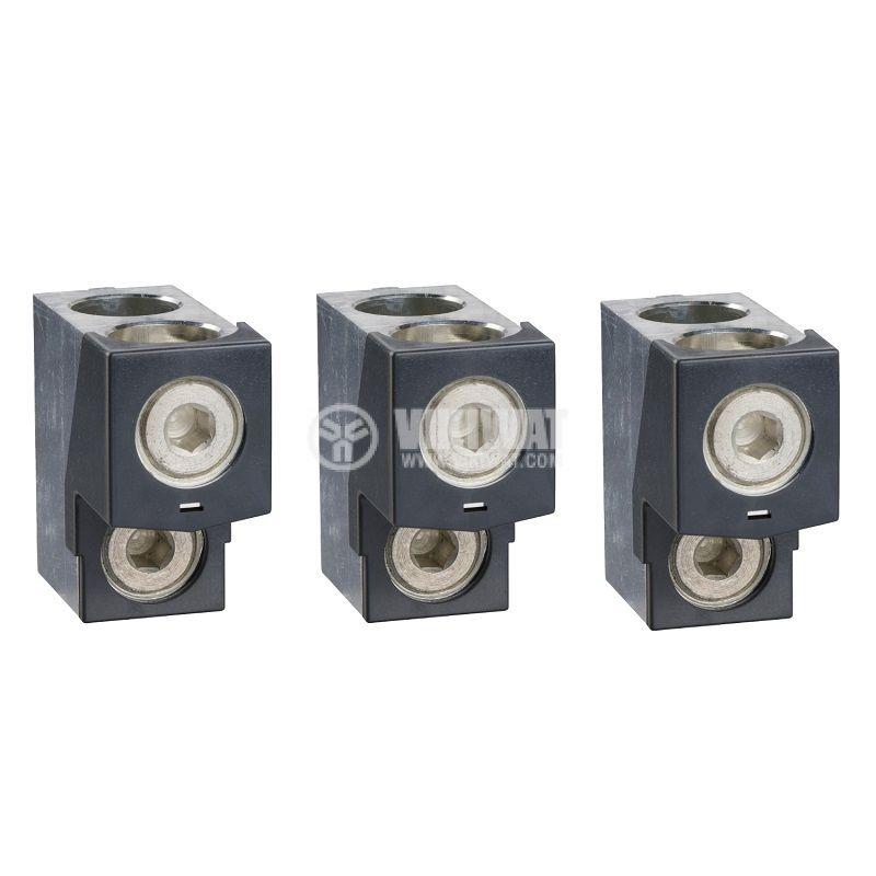 Свързващ конектор LV432481 за прекъсвач 0~630A 35~240mm2
