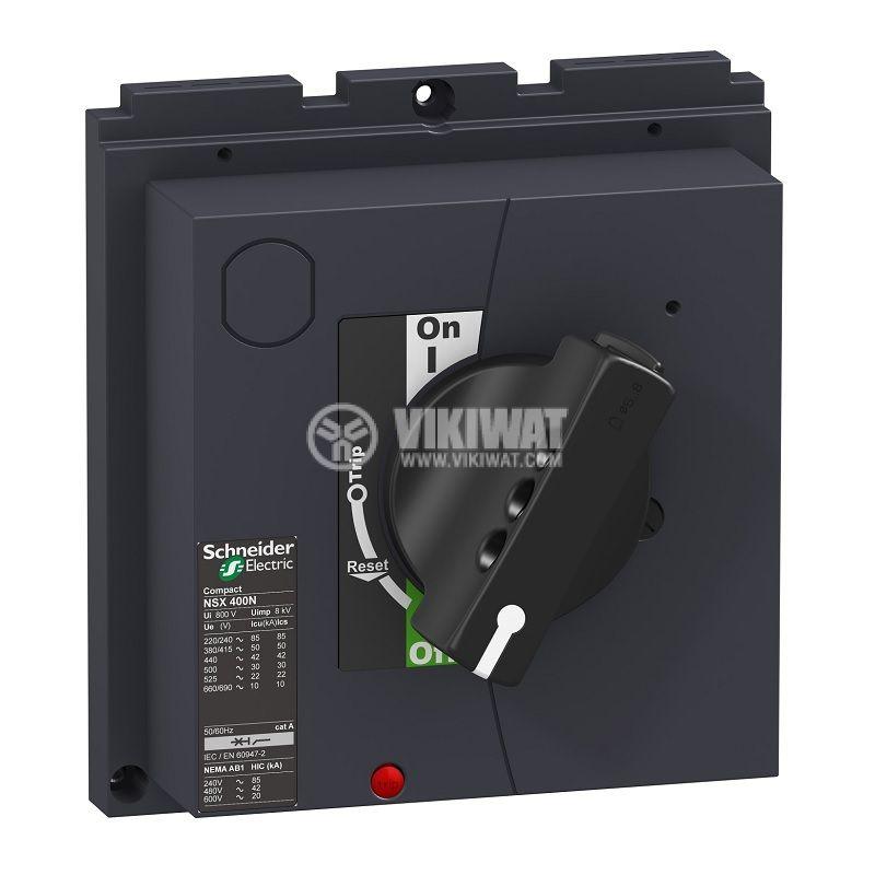Директна ротационна ръкохватка LV432597, със заключване, за автоматичен прекъсвач NSX и CVS