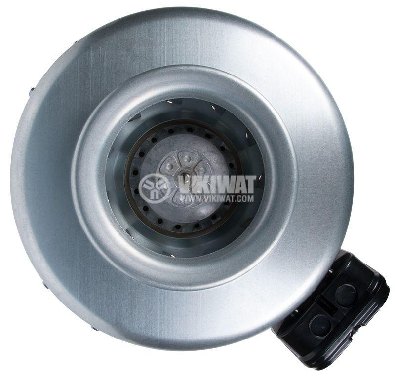 Вентилатор, промишлен, тръбен, BDTX 160-A, 230VAC, 85W, 440m3/h, ф157mm - 1