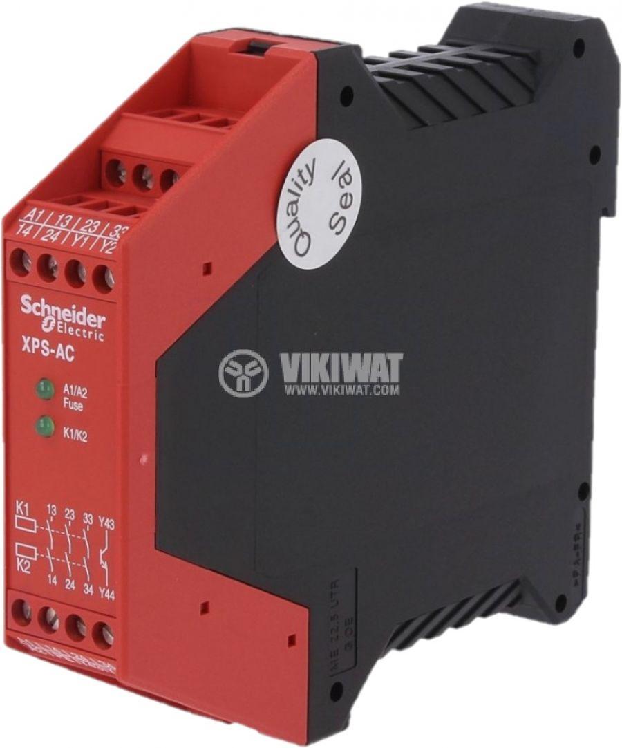Модул за безопасност XPSAC3721 230V 3xNO 1 транзисторен