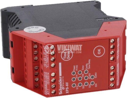 Модул за безопасност 24V 3xNO+3xNO със закъснение 3 транзисторен IP20 - 2