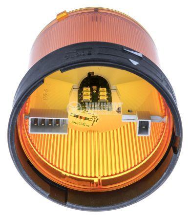Сигнална лампа 24VAC/VDC оранжева непрекъсната светлина - 2