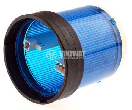Корпус за сигнална лампа 0~250VAC/VDC синя - 2