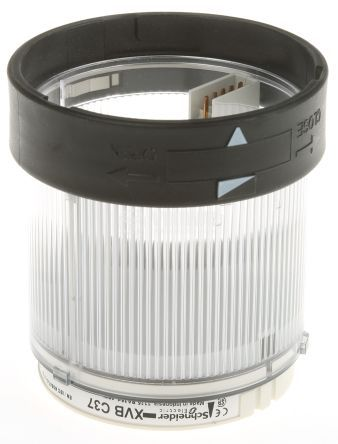 Корпус за сигнална лампа 0~250VAC/VDC бяла непрекъсната светлина BA15D - 2