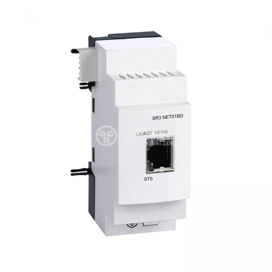 Модул комуникацинен SR3NET01BD, RJ45, Ethernet, Zelio Logic