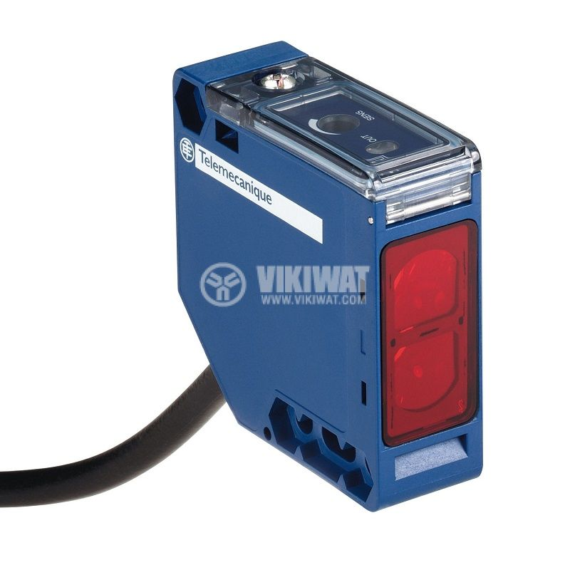 Оптичен датчик XUK9ARCNL2, 20~264VAC/VDC, отражателен, 50x50x18mm, 0~6000mm