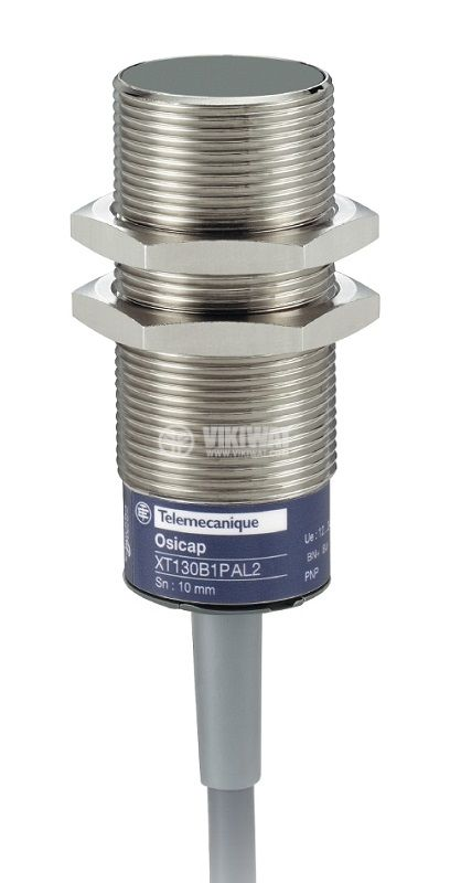 Капацитивен датчик XT130B1FBL2, M30x70mm, 20~264VAC, NC, 10mm, екраниран