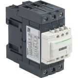 Контактор LC1D40AB7, 3-полюсен, 3xNO, 40A, 24VAC, помощни контакти NO+NC