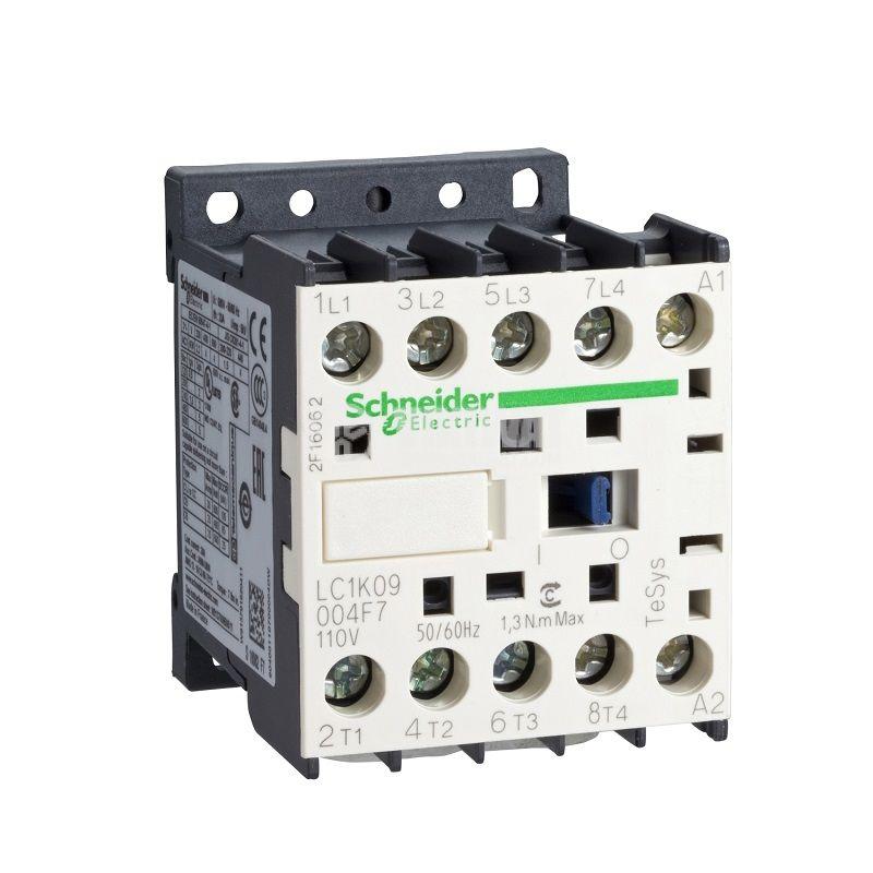 Контактор LC1K09008P7, 4-полюсен, 2xNO+2xNC, 9A, 230VAC