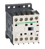 Контактор LC1K0910F7, 3-полюсен, 3xNO, 9A, 110VAC, помощни контакти NO