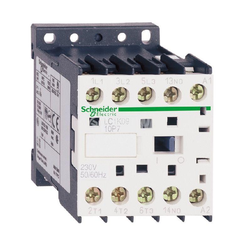 Контактор LC1K0910U7, 3-полюсен, 3xNO, 9A, 240VAC, помощни контакти NO