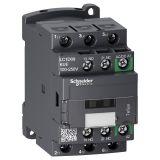 Контактор LC1D09KUE, 3-полюсен, 3xNO, 9A, 100~250VAC/VDC, помощни контакти NO+NC