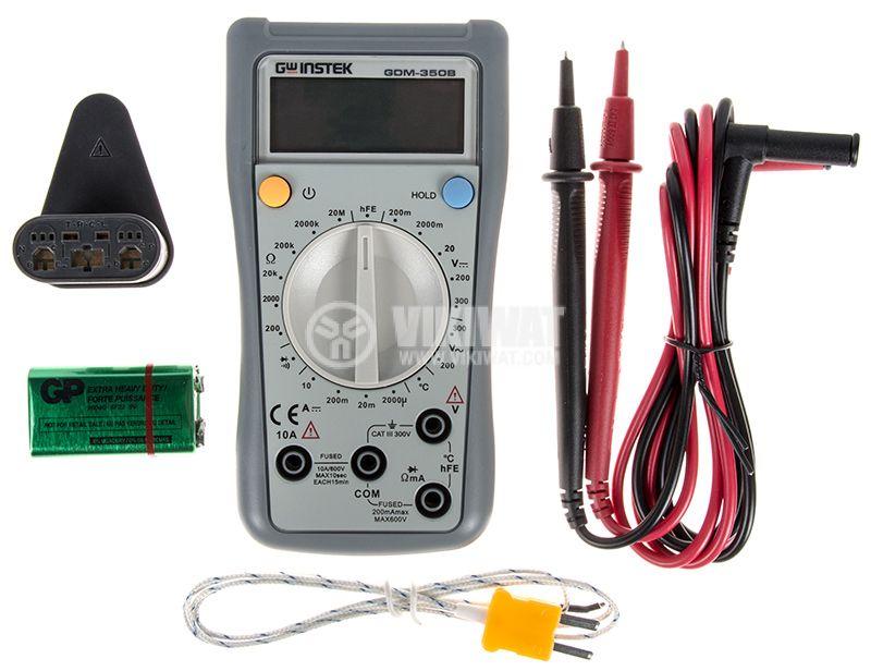 Дигителен мултиметър GDM-350B - 4