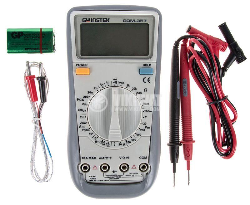 Дигителен мултиметър GDM-357 - 4