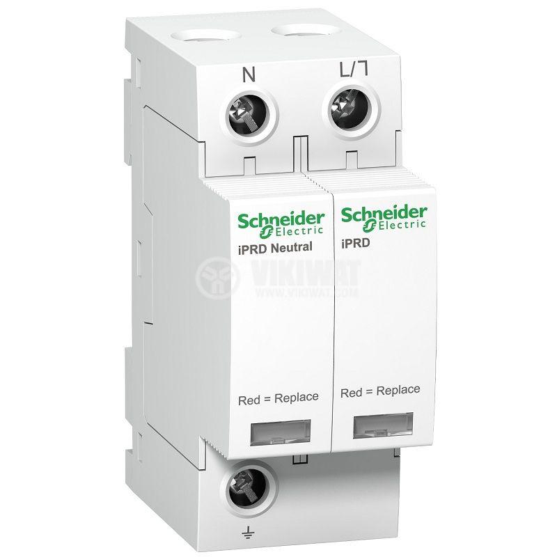 Катоден отводител A9L40500 1P+N 350V <1.4kV 15kA 40kA DIN
