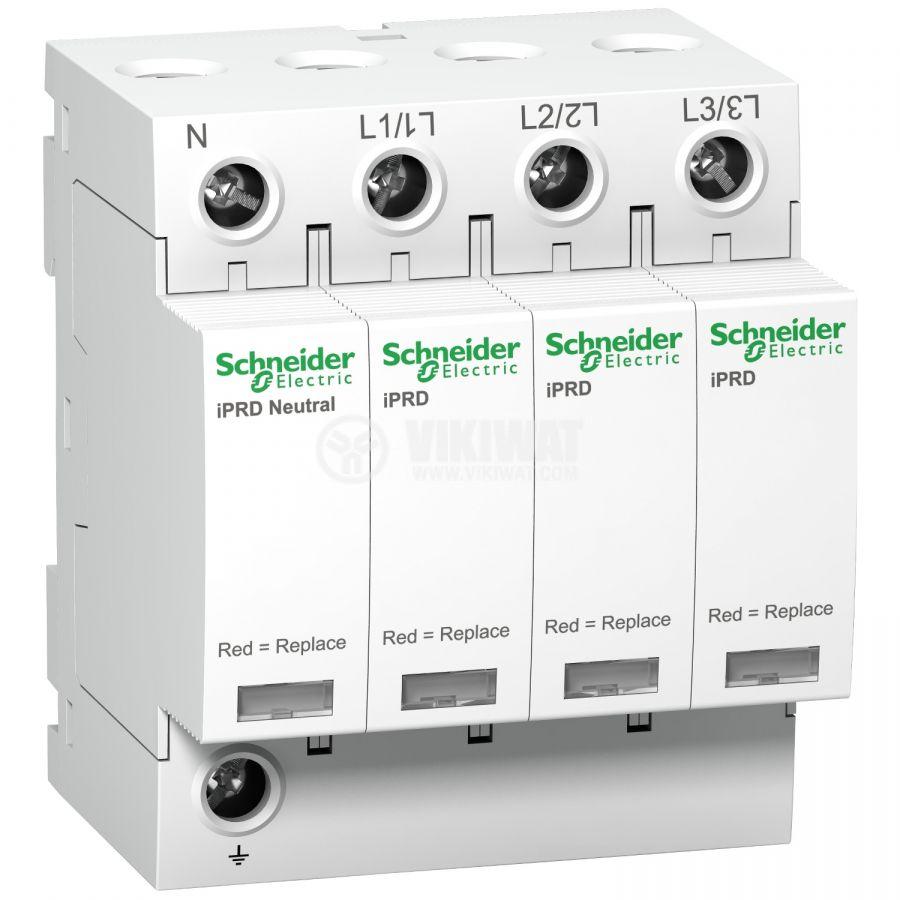 Катоден отводител A9L40600 3P+N 350V <1.4kV 15kA 40kA DIN