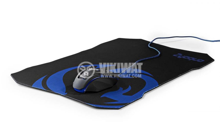 Комплект геймърска оптична мишка и подложка GMMP200BK 6 бутона 800~2400dpi 1.8m - 4
