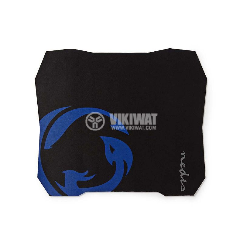 Gaming Mouse pad, GMPD100BK, antibacterial, 287x244mm - 1