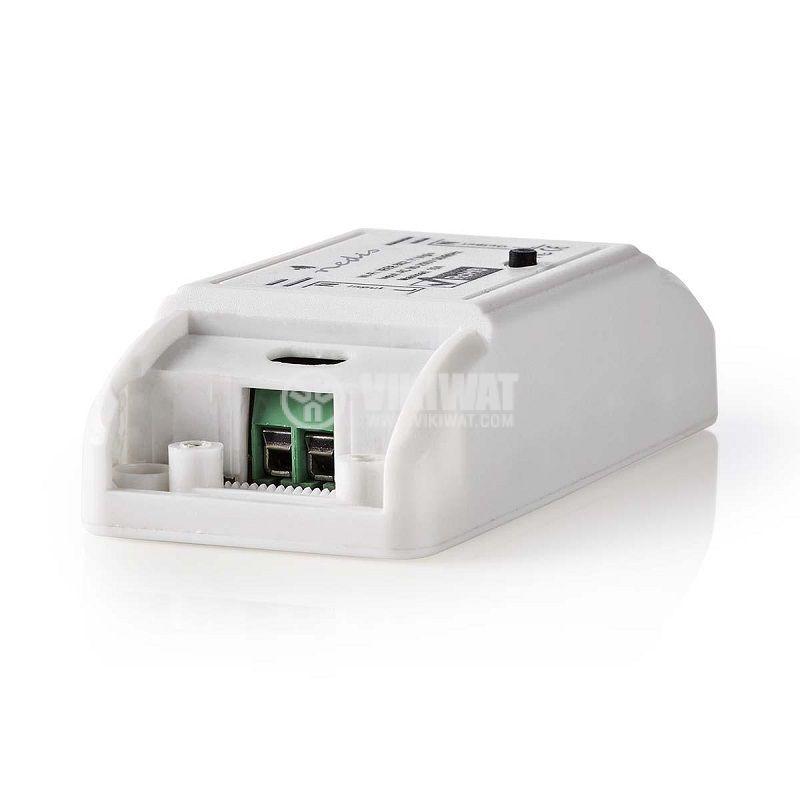 Wi-Fi Smart single switch, 10A, 230VAC, white, NEDIS WIFIPS10WT - 1