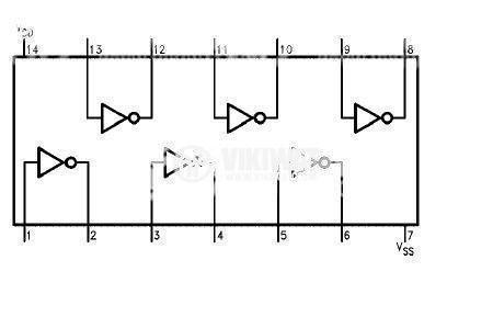 Интегрална схема 4069 - 2