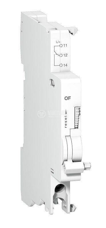 Независим изключвател, 24-415VAC, 24-130VDC, Acti 9, OC + SD и OF, шина, A9N26924, Schneider