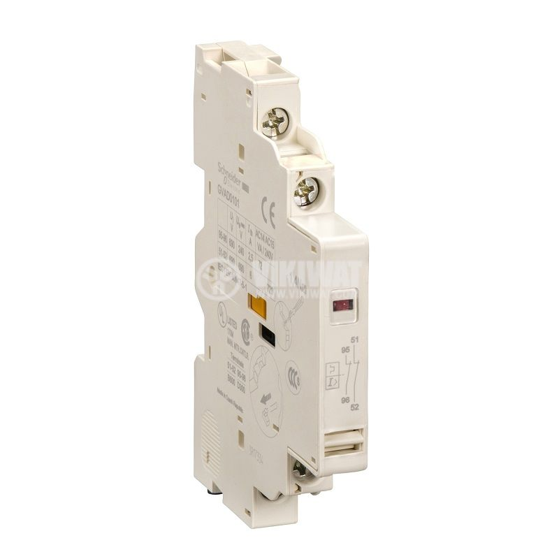 Сигнален контакт GVAD0101 DPST 2xNC GV3 GV2