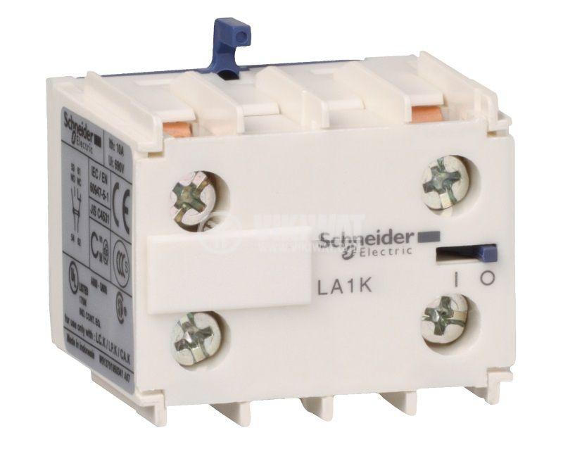 Помощни контакти LA1KN02 10A/690V DPST 2xNC