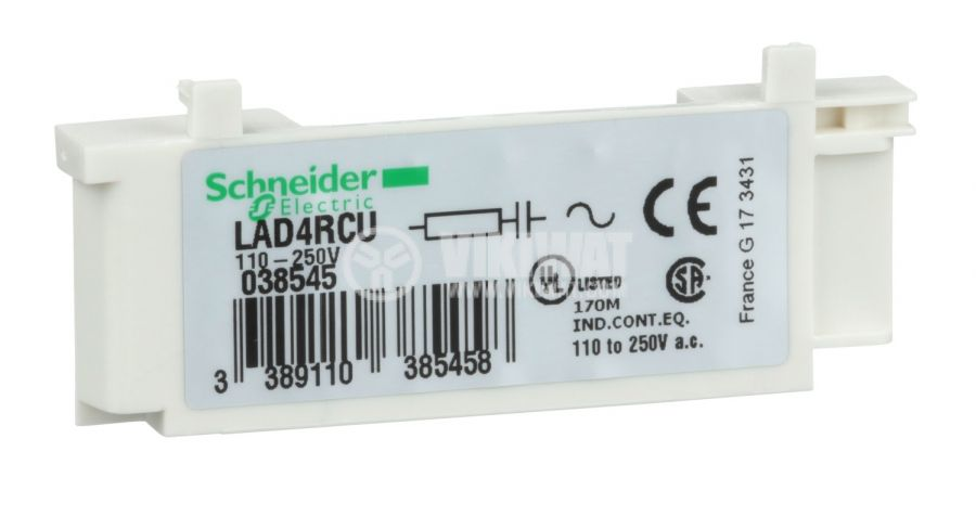 RC chain LAD4RCU 110-250VAC