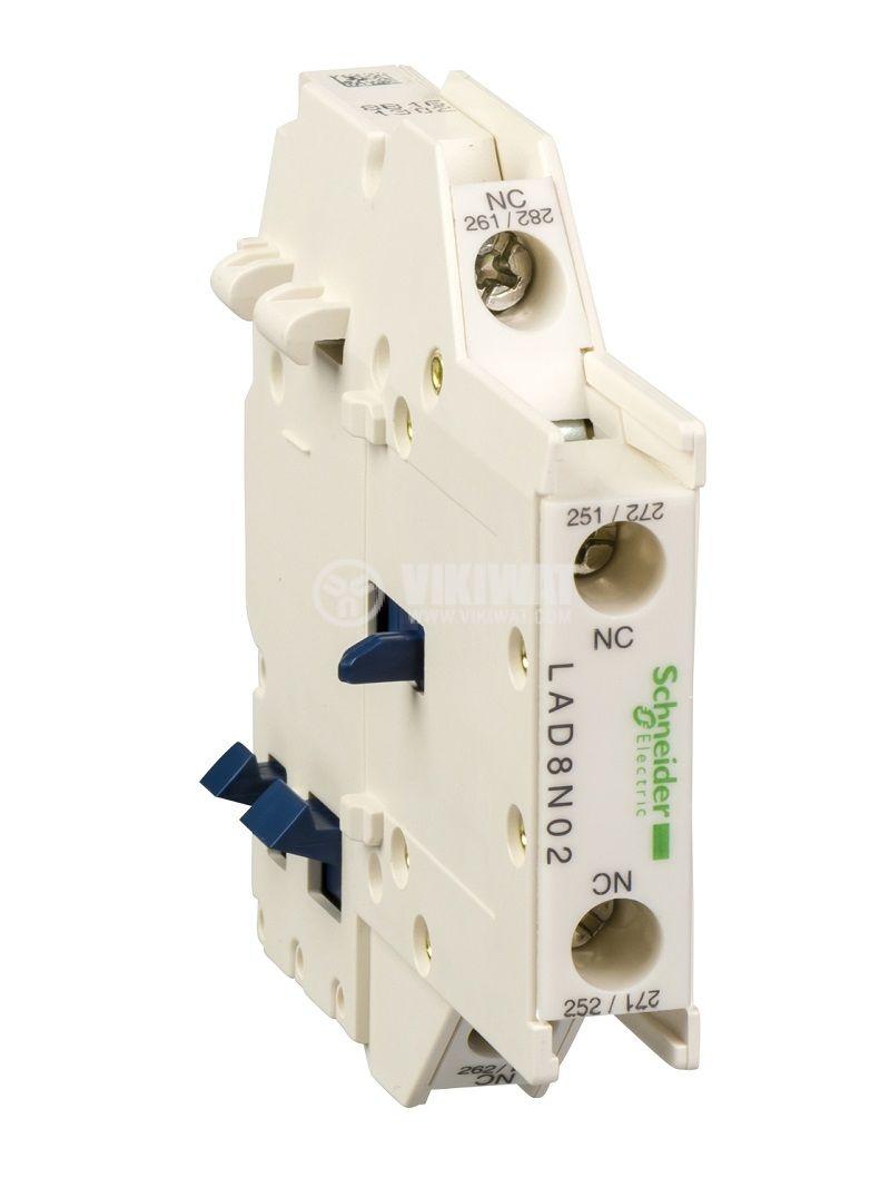 Помощен контакт LAD8N02 10A/690V 2PST 2xNC
