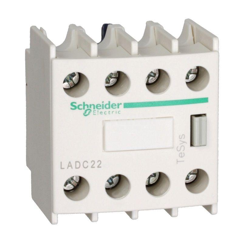 Помощни контакти LADC22 10A/690V DPDT 2xNO+2xNC