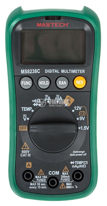 Digital multimeter MS8238C - 2