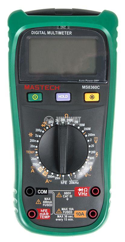 Цифров мултиметър MS8360C - 2
