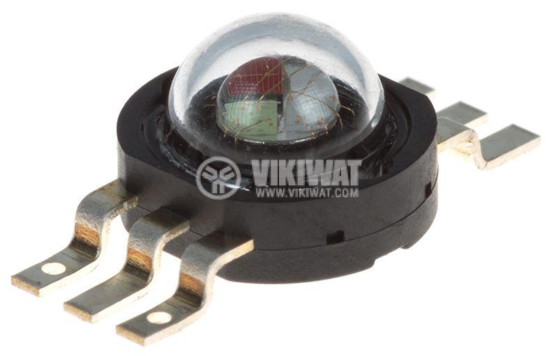 LED диод PM6B-3LFE-A RGB ф14.2x5.5mm 3W 350mA 130° - 1