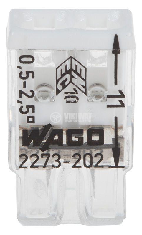 Клема WAGO 2273-202 - 2