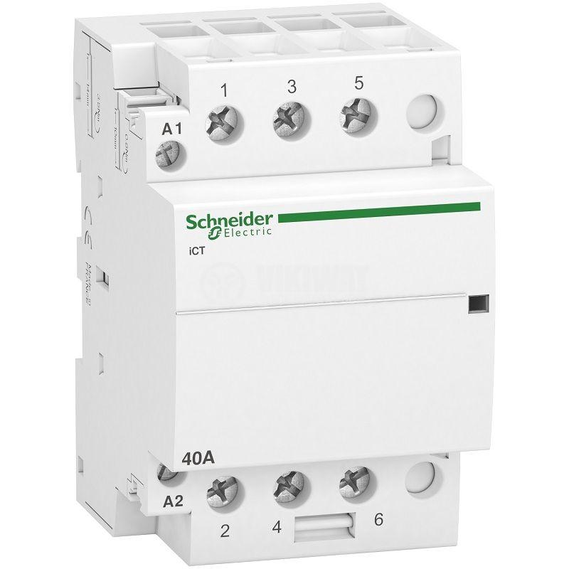Контактор A9C20843, 3P, 230VAC бобина, 40A