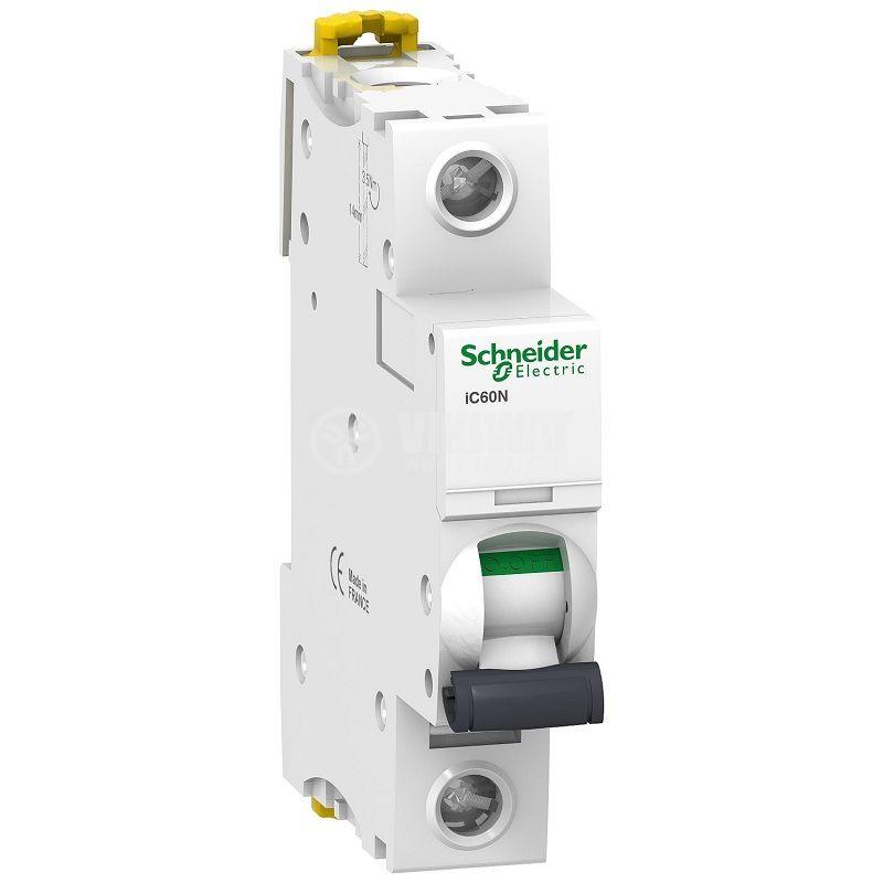 Miniature circuit breaker single pole 6A 230V DIN rail A9F73106
