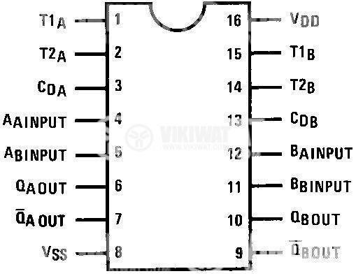 Интегрална схема 4528B - 2