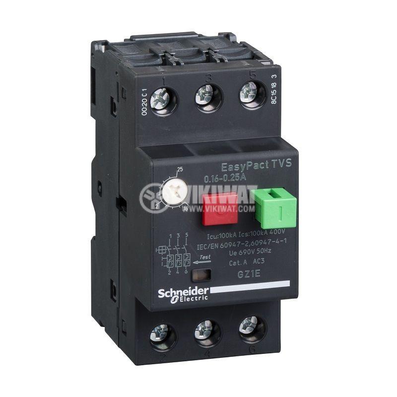 Моторна защита термо-магнитна 20~25A GZ1E22 Schneider