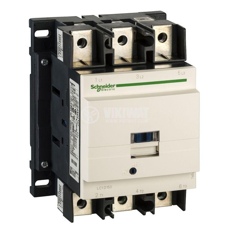 Контактор LC1D150P7 3P 230V бобина 150A NO+NC