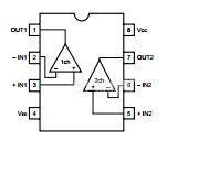 Интегрална схема JRC4560D, Dual high slew rate operational amplifier - 2
