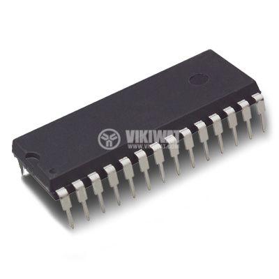 Интегрална схема 4754, 18-element bar graph LCD driver, DIL28
