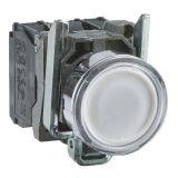 Панелен превключвател, XB4BW31B5, бутон, ф22mm, 3A/240VAC, 2 позиции