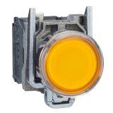 Панелен превключвател, XB4BW3565, бутон, ф22mm, 3A/240VAC, 2 позиции