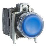 Панелен превключвател, XB4BW36B5, бутон, ф22mm, 3A/240VAC, 2 позиции