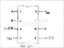 Интегрална схема 40107, CMOS, Dual 2-input NAND Buffer/Driver, DIP8 - 2