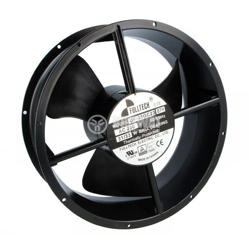 Fan, industrial, axial UF25GC23-H, ф254mm, 230VAC, 31W, 780m3/h - 1