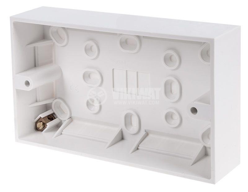 Конзола за бойлерно табло за повърхностен монтаж PVC 147x57x35mm LEGRAND 613351 - 1