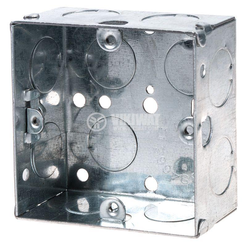 Конзола за бойлерно табло за вграждане метална 73x73x36mm LEGRAND BS4662 - 1
