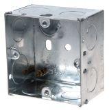 Конзола за бойлерно табло, за вграждане, метална, 73x73x47mm, LEGRAND BS4662